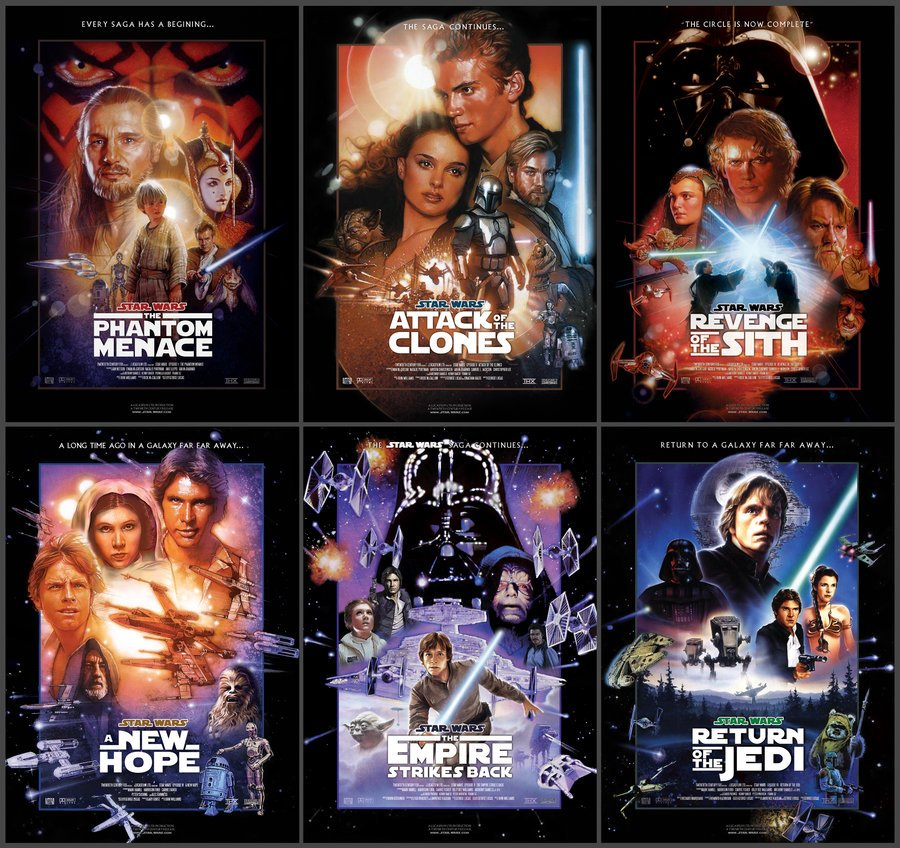 fotobabble you can download complete star war movie series in full