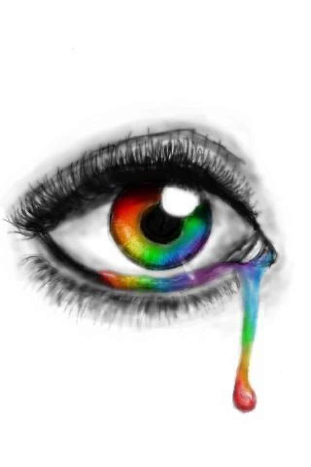 Rainbow Eye Crying | www.pixshark.com - Images Galleries ...